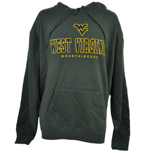 NCAA Colosseum West Virginia Mountaineers Hoodie Sweater 2XL Gray Mens Winter