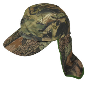 Blank Plain Camouflage Camo Sun Neck Shade 23 inch Outdoor Hat Cap Curved Bill