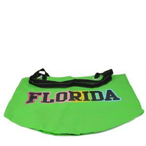 Florida Sunshine State Neon Green Tote Bag Beach Handbag Purse Womens Ladies