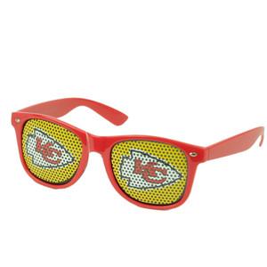 Kansas City Chiefs Logo Sun Glasses Novelty Lens Style Shades Football Red