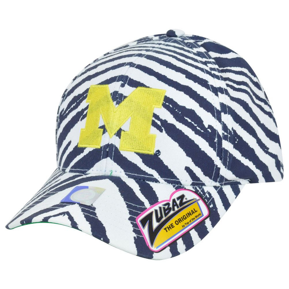 NCAA Michigan Wolverines Top of the World Smash Zubaz Zebra Snapback ... 9bfb7de71fc4