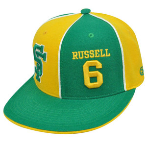 SAN FRANCISCO DONS #6 BILL RUSSELL FITTED 7 1/8 HAT CAP