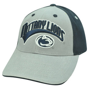NCAA Curved Bill Adjustable Velcro Cotton Hat Cap Arch Penn State Nittany Lions