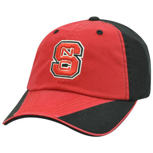 NCAA North Carolina State Wolfpack Flip Garment Wash Slouched Sun Buckle Hat Cap