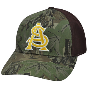 NCAA Arizona State Sun Devils Freshman Camouflage Adjustable Curved Bill Hat Cap