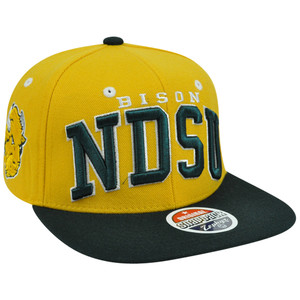 NCAA North Dakota State Bison Superstar Zephyr Adjustable Snapback Hat Cap