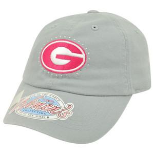 NCAA Top of the World Georgia Bulldogs Womens Ladies Rhinestone Relax Hat Cap