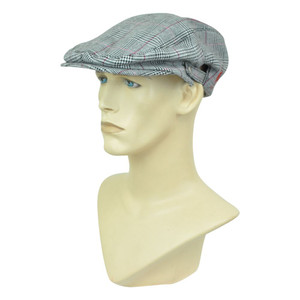 Brand Newsboy U.S Polo Assn. Gatsby Snap Button Plaid Gatsby Cabbie Ivy Hat Cap