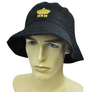 HRH Hard Rock Hotel Casino Las Vegas Black Gold Crown Bucket Beach Sun Hat Cap