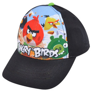 Angry Birds Group Crew Shot Cartoon Video Game Youth Boys 2-7 Snapback Hat Cap