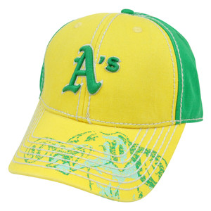 MLB Oakland Athletics Pro Stitch American Needle Vintage Washed Cotton Hat Cap