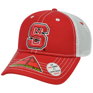 NCAA North Carolina Wolfpack Hat Cap Pro Pocket Mesh Flex Fit Cool Comfort M/L