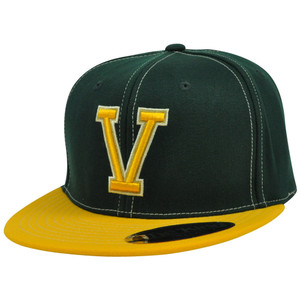 NCAA Vermont Catamounts Baron Top of the World The King Flex Fit Flat Bill Hat