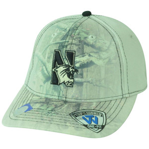 NCAA Nebraska Cornhuskers Battle Fade Camo Stretch Flex Fit One Size Hat Cap