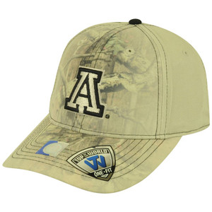 NCAA Top of the World Arizona Wildcats Fade Camo Flex One Fit Mossy Oak Hat Cap