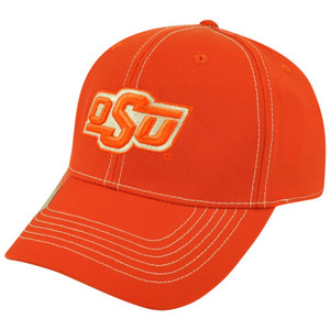 NCAA Top of the World Oklahoma State Cowboys Endurance Tactile Flex Fit Hat Cap