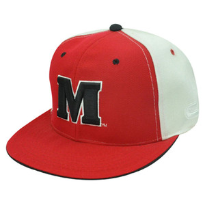 NCAA FITTED CAP HAT FLAT BILL MARYLAND TERRAPINS SIZE 7