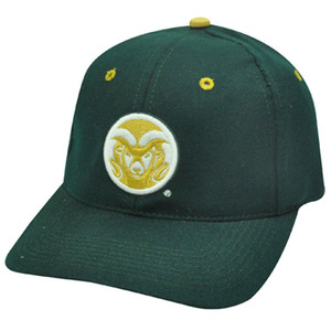 NCAA FITTED CAP HAT COLORADO STATE RAMS FIT SIZE 7 1/8