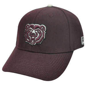 NCAA FITTED CAP HAT SOUTHWEST MISSOURI BEARS 7 3/8 NEW