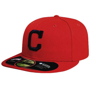 MLB ATLANTA BRAVES SCARLET NEW ERA 59FIFTY 5950 FITTED HAT CAP RED SIZE 8
