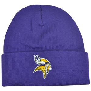 NFL Minnesota Vikings Knit Beanie Albion Skully Hat Toque Cuffed Basic Logo