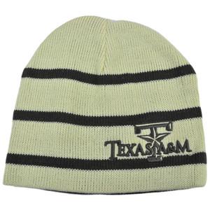 NCAA Texas A&M Aggies Top Of World Mocha Reversible Knit Beanie Skully Hat Cap