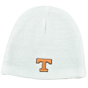 NCAA Zephyr Reversible Women Kid Knit Beanie Nordic Hat Tennessee Volunteers Vol