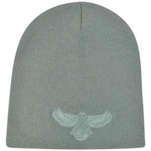 NBA Atlanta Hawks Gray Toque Knit Beanie Winter Skully Skull Hat Cuffless