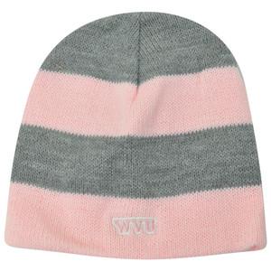 NCAA American Needle Women Ladies West Virginia Mountaineers Cuffless Knit Pink
