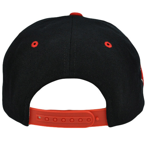 dd16b794535 Original Zephyr Snapback Canada Canadian Maple Leaf Black Red Flat Bill Hat  Cap. Your Price   13.68 (You save  11.31). Image 1. Larger   More Photos