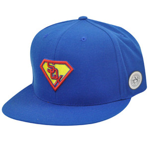 MLB CHICAGO WHITE SOX FITTED 7 SUPERMAN FLAT CAP HAT