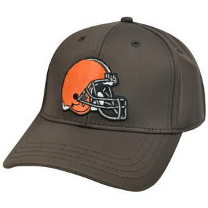 NFL Cleveland Browns PDQ Performance Stretch One Size Flex Fit Men Adult Hat Cap