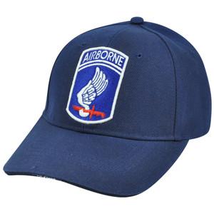 173D Airborne Brigade Sky Soldiers Combat Hat Cap Constructed Adjustable Velcro