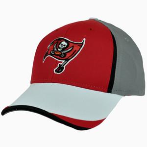 NFL Reebok Hat Cap Stretch Tampa Bay Buccaneers One Size Flex Fit Large XLarge
