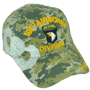 101st Airborne Division Digital Camouflage Camo Military Eagles Velcro Hat Cap