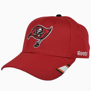 NFL Reebok Tampa Bay Buccaneers One Size Flex Fit Large XLarge Hat Cap Stretch