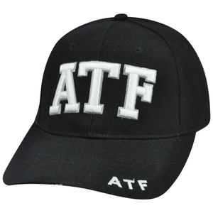 ATF Alcohol Tobacco Firearm Constructed Agent Curve Bill Hat Cap Enforcement Law