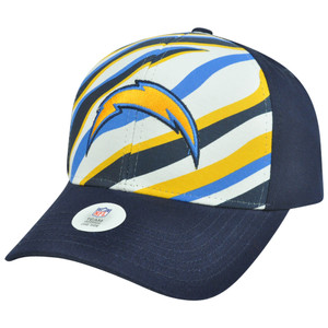 NFL San Diego Chargers Martin Adjustable Velcro Curved Bill Constructed Hat Cap