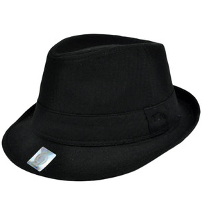 Mississippi Rebels Top of the World Pinstripe Fedora Hat Trilby Small Medium