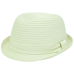 Concept One Neutral Band Gangster Stetson Trilby S/M Trilby Cotton Relaxed Hat