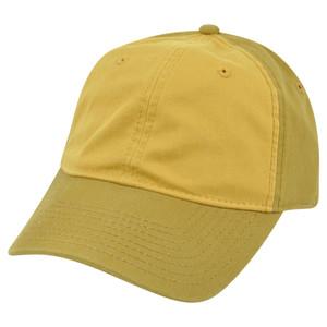 American Needle Blank Two Tone Mustard Yellow Women Ladies Garment Wash Hat Cap