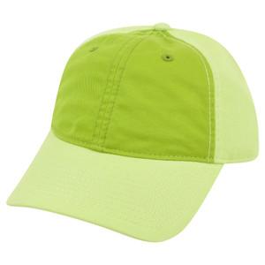 American Needle Blank Two Tone Green Women Ladies Garment Wash Buckle Hat Cap