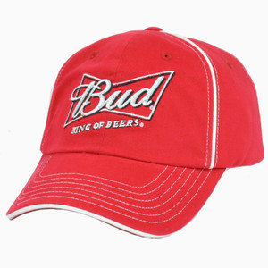 Nascar #9 Kasey Kahne Bud King Of Beers Garment Wash Adjustable Velcro Hat Cap