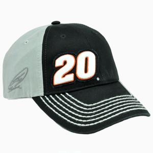 Nascar Tony Stewart #20 Joe Gibbs Racing Garment Washed Race Adjustable Hat Cap