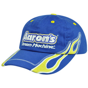 Nascar Racing Aarons Dream Machine #00 Michael Waltrip Racing MWR Velcro Hat Cap