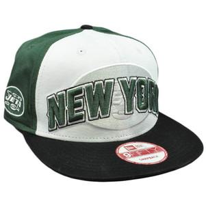 New Era 9Fifty 950 NFL Draft 2012 Snapback Cap Hat New York Jets Flat Bill