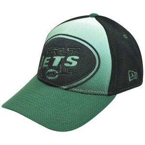 NFL New Era 39Thirty 3930 Gradation New York Jets Stretch Flex Fit M/L Hat Cap