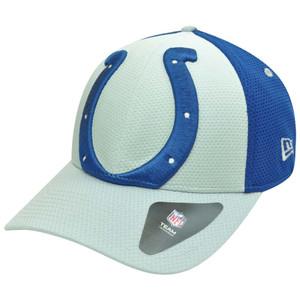 NFL New Era 39Thirty 3930 Gradation Indianapolis Colts Flex Fit S M Hat Cap bfc5352dc