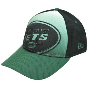 NFL New Era 39Thirty 3930 Gradation New York Jets Stretch Flex Fit S/M Hat Cap
