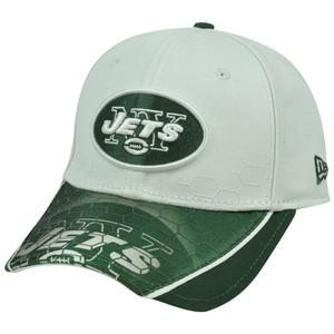 New Era 39Thirty 3930 NFL New York Jets Hybrid Hex Hat Cap Stretch Flex Fit M/L
